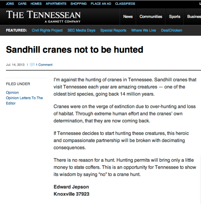 The Tennessean OpEd_14 July 2013