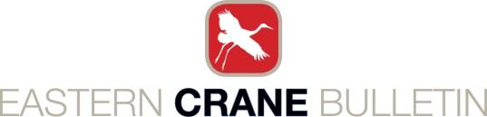 Eastern Crane Bulletin masthead A