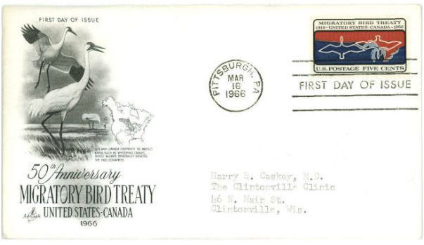 1966 anniv Migratory Bird Treaty act